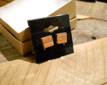 Sapele Earrings - EST016