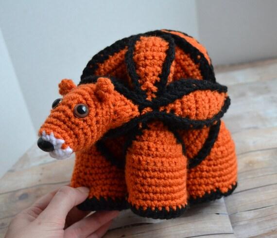 Amigurumi Puzzle Animals : Tiger Amamani Stuffed Animal Amish Puzzle Ball Crochet