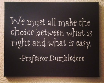Canvas Painting - Dumbledore