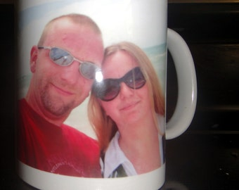 custom image mug/ great christmas gift