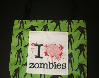 Zombie tote bag  2