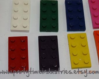 4 Building Blocks Shaped Crayons