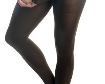 Mantyhose, Pantyhose For Men Hair Covering Tights With Fly 9287