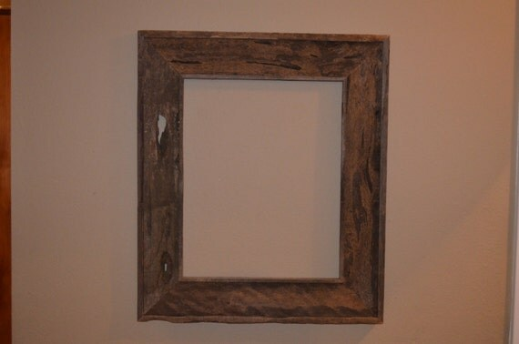 Items Similar To Barn Wood Mirror Frame Or Picture Frame