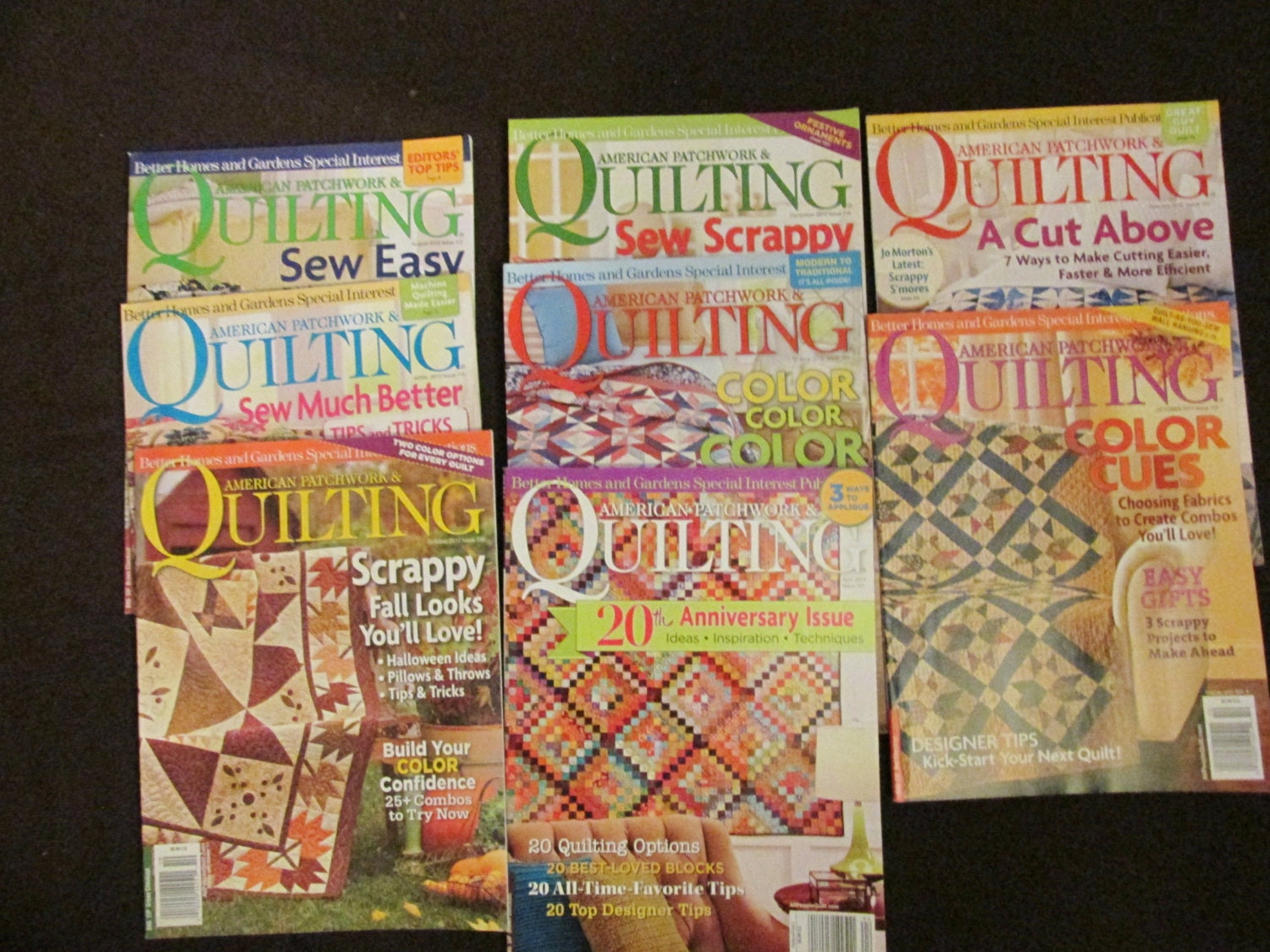 American Patchwork Quilting Magazine Lot Of By