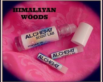 HIMALAYAN WOODS 1/3 oz Perfume Oil-Free Samples!Free Shipping!