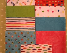 Christina's Collection of Vibrant, bright color Qult Fabrics
