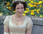 Elizabeth Bennet's Netherfield Ball Gown-Pride and Prejudice 1995 Lizzy's Ball Gown-Custom Order