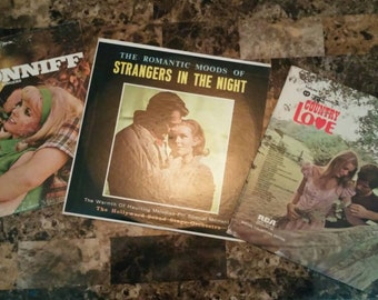 Country love song 3 vinyl records