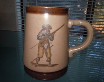 1950sHutschenreutherWeinachtsmarky Stein Mug