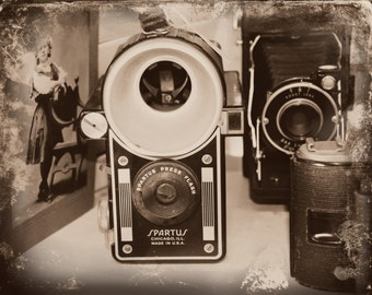 Old Cameras at the Flea Market