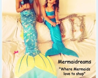 Mermaid tail swimmable and tailored by Mermaidreams. A piece of art, monofin included