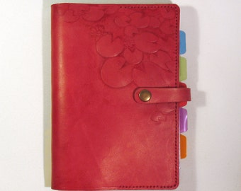 embossed  leather book/ note book/ sketch book/ planner cover