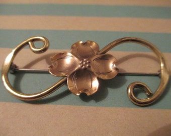 Dogwood Flower Brooch