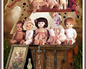 Fantasy Portrait - Antique Precious Dolls