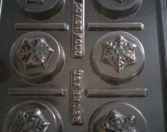 Oreo Snowflake Chocolate Mold