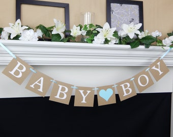 Baby Boy Banner, Its A Boy banner, Baby Shower Banner, Boy Shower Decorations, boy baby shower, baby shower decorations, boy baby banner