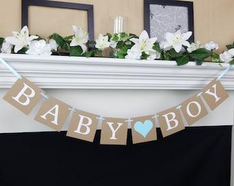 baby boy banner its a boy banner baby shower banner boy shower decorations