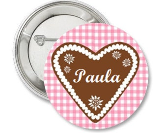 Personalized Pinback Button or Magnet or Pocket Mirror or Bottle Opener
