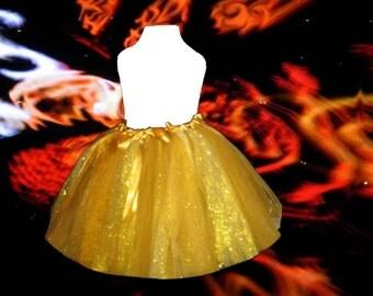 Golden Tutu Skirt