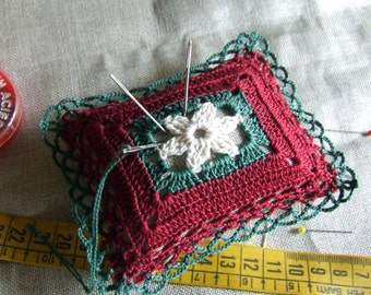 Pincushion, elegant, ideal gift for any holiday.