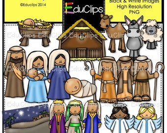 Nativity Clip Art Bundle