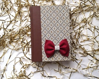 Holiday Red Cordoroy Bow