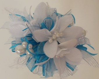 Silk corsage...It's Prom Season....Bring On The Bling!