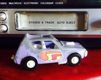 "Vintage Retro ""Tootsietoy"" Purple Gremlin"