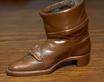 Jennings Brothers Copper Metal Boot