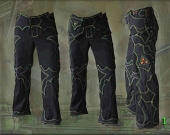 Dune Pants ~ apocalyptic fusion neo tribal