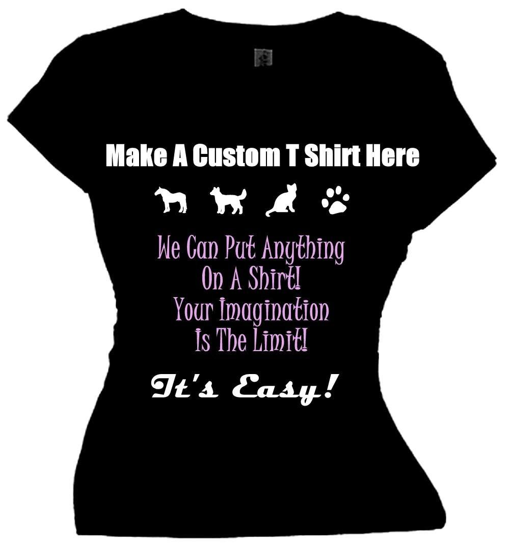 Make a t shirt online customize shirt with sayingcreate a for Online custom shirt maker