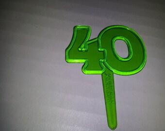 40 cupcake picks
