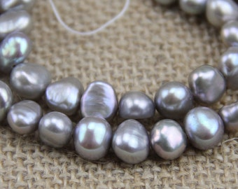 4-5mm small gray baroque pearl bead,cheap silver grey nugget pearls,irregular shape pearls,DIY pearl jewelry material wholesale from china,