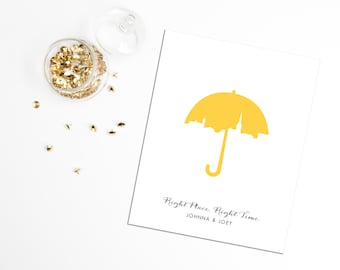 8x10 Print - How I Met Your Mother 'Right Place, Right Time'