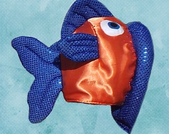 Fish Hat Costume  Fits Adult or Child, fully lined