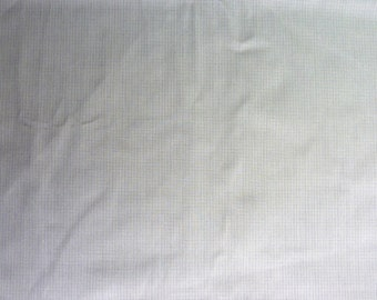 """Small Print Plaid on Gray Heavier Weight Cotton Fabric.  62"""" wide and sold by the yard."""
