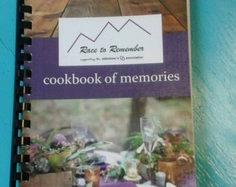 Race to Remember Cookbooks benefiting Alzheimers Association