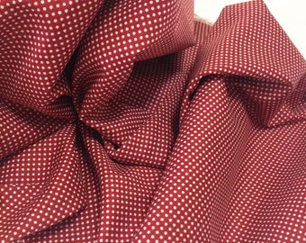 Cotton Fabric 3 kinds of small dots (choose one color), 1/2 yard cloth.43 x 18 inches,110cm wide,45cm long