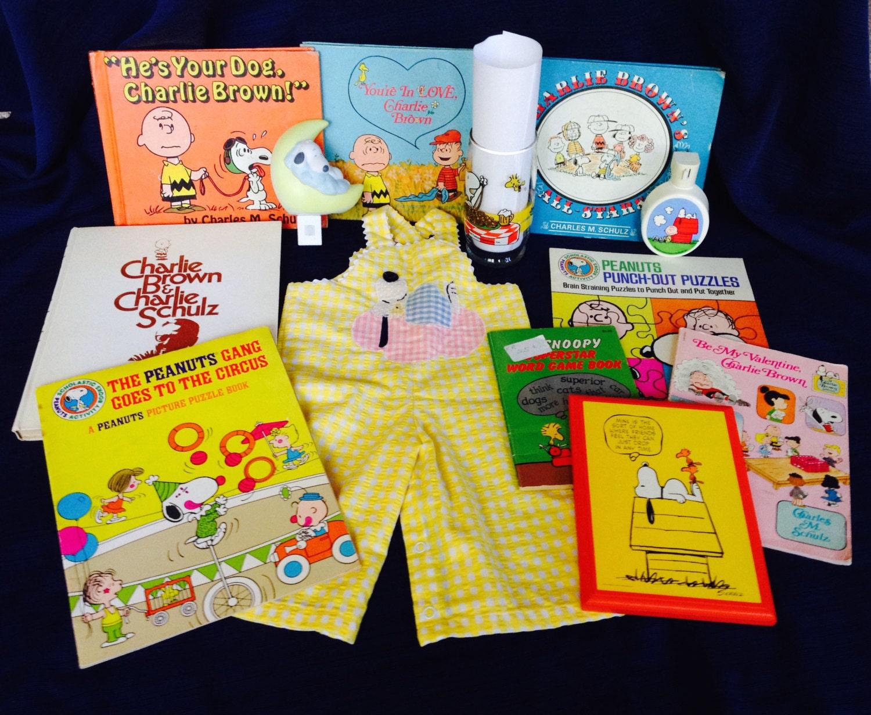 Charlie Brown PEANUTS Nightlights Baby Clothing Puzzle