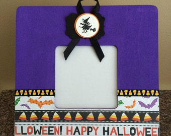 3x3 Halloween Picture Frame