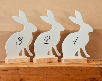 Hare Table Marker Ideal for events Weddings also available matching Table Planner