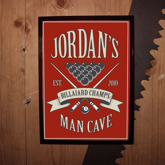 Gifts For Man Cave Bar : Items similar to custom personalized bar sign