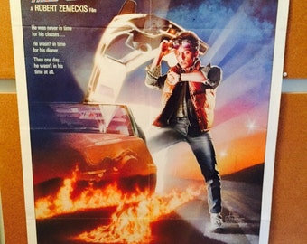Back to the Future Vintage Movie Poster