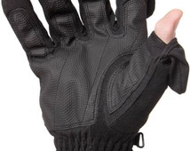 Unisex Stretch Thinsulate Gloves - Waterproof and Windproof back, ideal for Skiing or Photography
