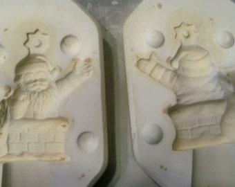 Santa in Chimney CPW-68