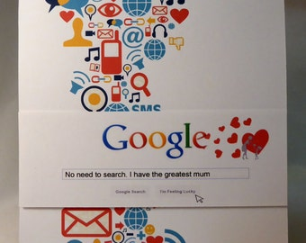 Google Mothers day card