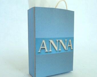 Anna (London) Shopping Bag dollhouse miniature 1/12 scale