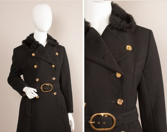 black military coat – Etsy UK