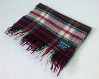 The Scotch House Small Scarf Neck Wrap Checks Pattern Made In Scotland BA